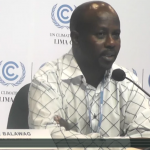 COP 20 Kimaren Ole Riamit from ILEPA-Kenya rights of indigenous people